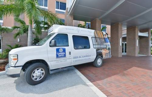 Cambria Hotel Suites FtLauderdale airport shuttle
