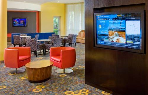 Courtyard Marriott Fort Lauderdale Aiport / Cruise Port lounge
