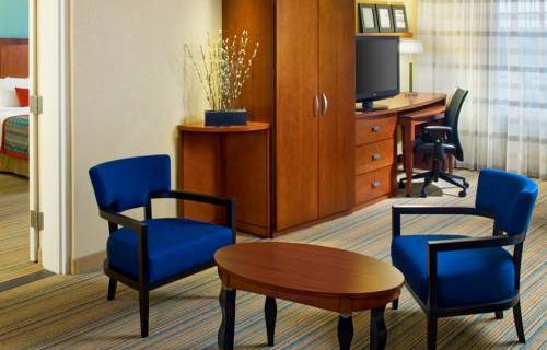 Courtyard Marriott Fort Lauderdale Aiport / Cruise Port suite