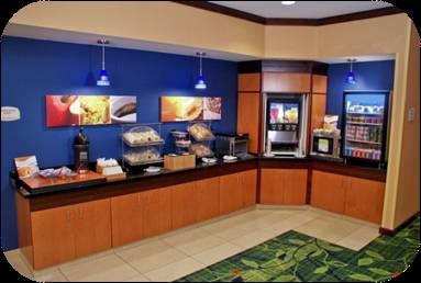 Fairfield Inn Ft Lauderdale Airport breakfast