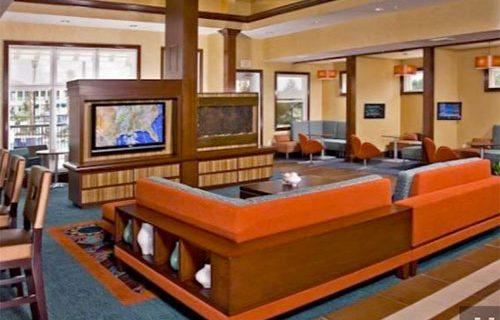 Residence Inn Fort Lauderdale Airport lobby