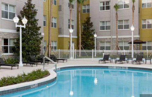 Residence Inn Fort Lauderdale Airport pool