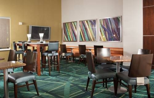 SpringHill Suites FtLauderdale Airport lounge